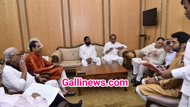 CM Uddhav Thackeray ne first day hi Cabinet Mministers ke sath Meeting kar 2 Anouncement kiya