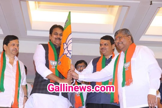Congress ki Outgoing Zoron par Senior leader Harshvardhan Patil ne BJP join kiya