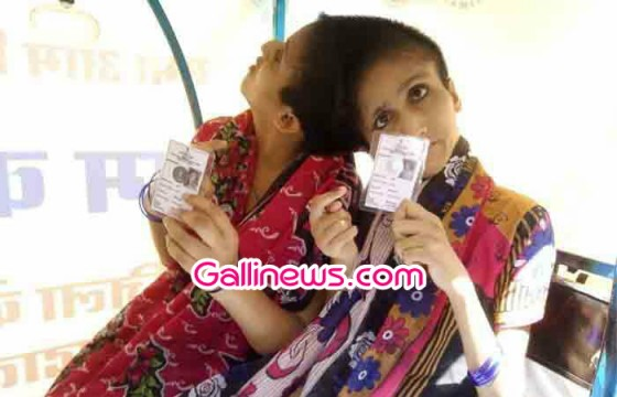 Conjoined Sister ne separate individuals Voting ki first time at Bihar