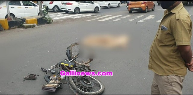 Cyclist died in Accident at PD Mello Road