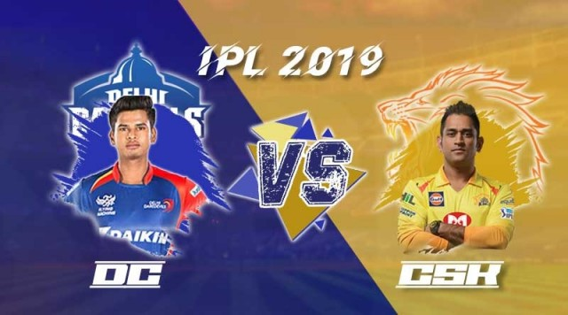 CSK won the match by 6 wicket against DC