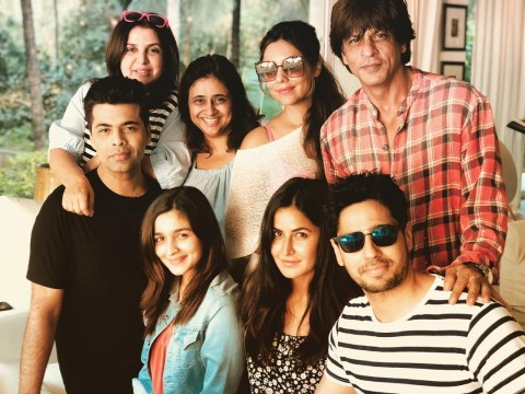 SRK for his birthday bash at  Alibaug
