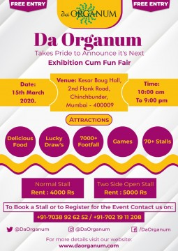 Da Organum Exhibition Cum Fun Fair at Kesar Baug Hall