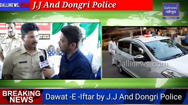 Dawaat E Iftaar Organize by Dongri and JJ Police at Sana Hall