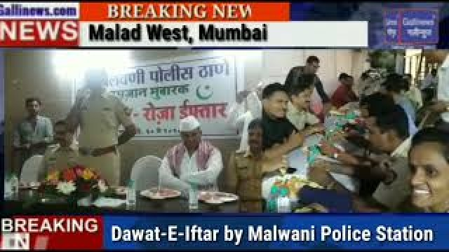 Dawat E Iftar By Malwani Police Station Malad West