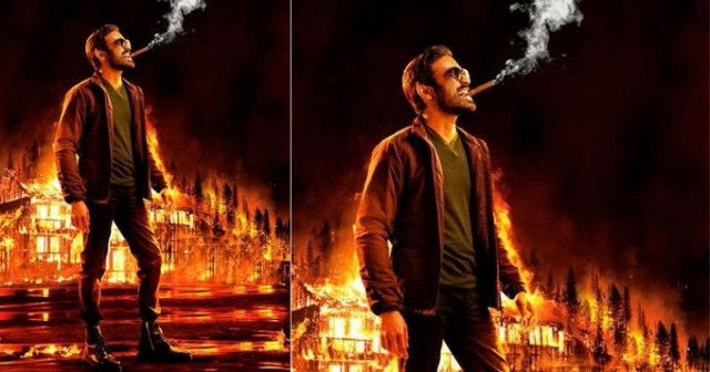 Dhanush releases the First look Naane Varuven