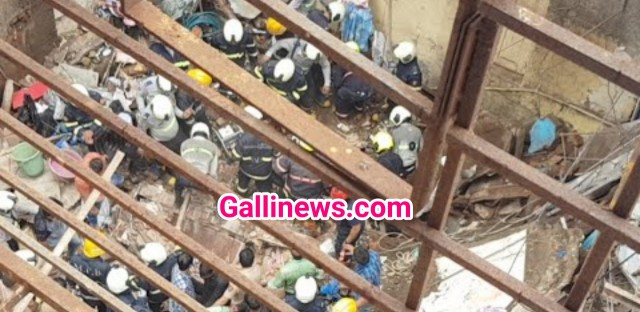 Dongri Bldg COLLPAES Rescue On 40 SE 50 FEARED TRAP