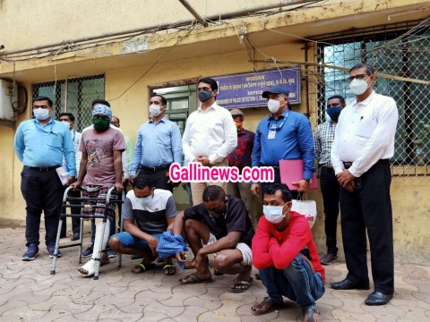 Drugs Smuggling 1 40 Crore ki MD Drugs ke sath 4 arrested including 2 foreigners by Zone 11 Kandivali Police station