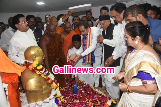 Governor and CM of Maharashtra Paid floral tributes to Maha Manav Bharat Ratna Dr Babasaheb Ambedkar on Maha Parinirvan Din at Chaitya Bhoomi