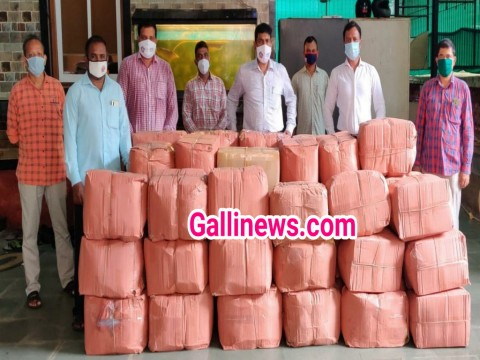 Fake N95 Mask Wroth 21.39 Lakh Siezed by Crime branch Zone 3 at Lower Parel 1 arrested