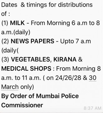 Fake News Going Viral Sirf Timings par hi essential Items Milengi