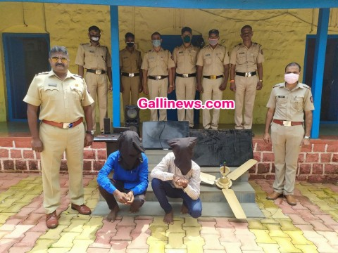 Fan  Chor Arrested by Palghar Police
