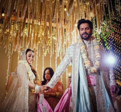 Finally Varun Dhawan and Natasha Dalal are Married