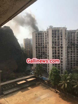 Fire At Residental Building in Sagar City Andheri West