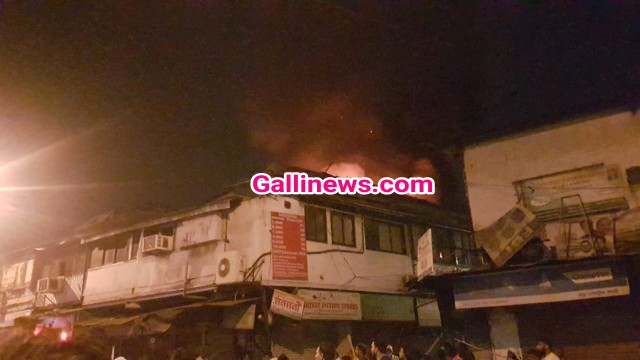 Fire In Madanpura Loha Chawl