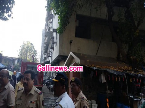 Fire at Sussax industrial estate byculla