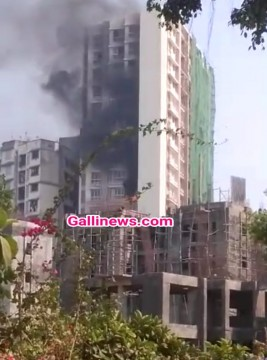 Fire in Bandra East