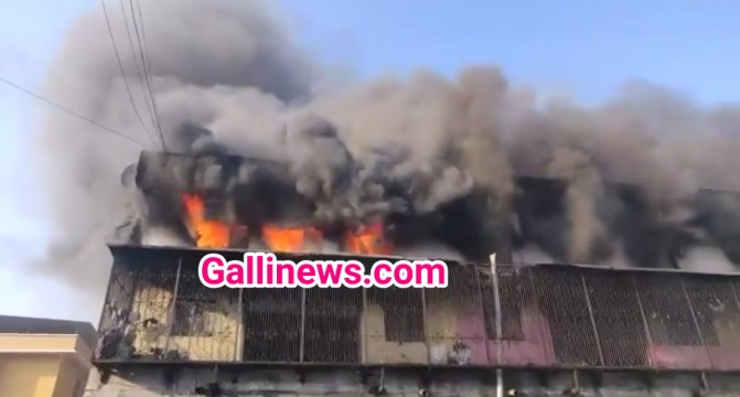 Fire in Brush Factory at Kalher Bhiwandi