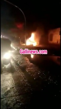 Fire in Car at LBS Road Bhandup