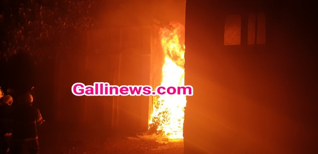 Fire in Godown at Wadi Bunder PD Mello Road