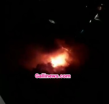 Fire in Love Lane Mazgaon