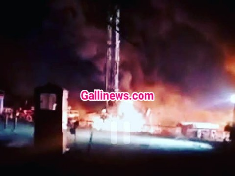 Fire in Oil Well operated by ONGC at Devdi Village Ahmedabad 1 dead 5 injured