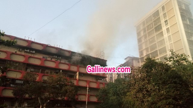 Fire in Sagar Industrial Estate on WEH near Dahiser Toll naka