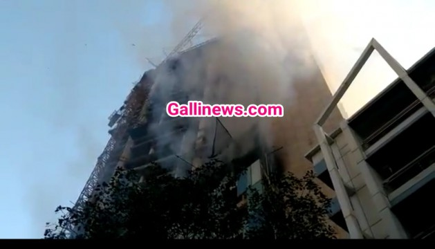 Fire in Under Construction Building near kamla mill compound lower parel