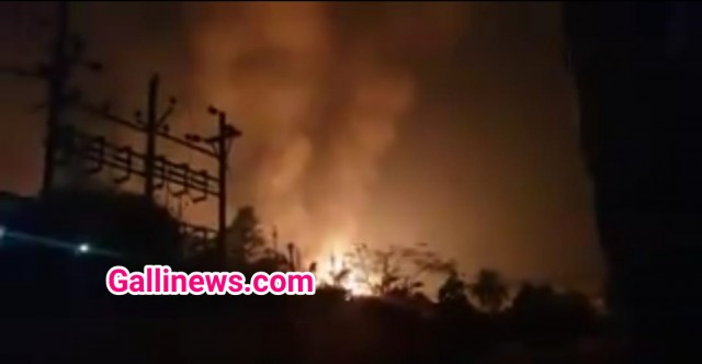 Fire in chemical factory at MIDC Badlapur