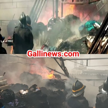 Fire in powerloom at Khoka Compound Bhiwandi