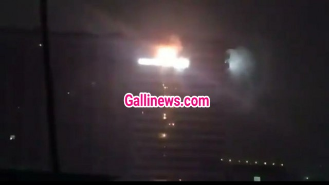 Fire on 19th Floor in Tower Vikhroli Parksite