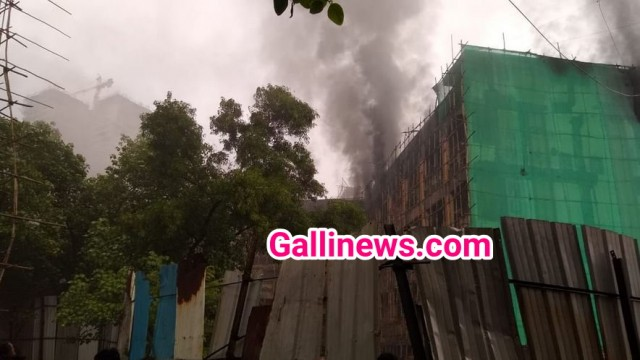 Fire on third floor at anand raj industrial estate Bhandup