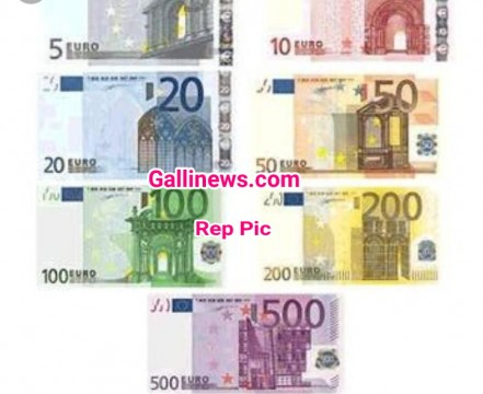 Foreign Currency  35000 Euros and Rs 2 Lakhs Cash  Seized By Dongri Police Stn