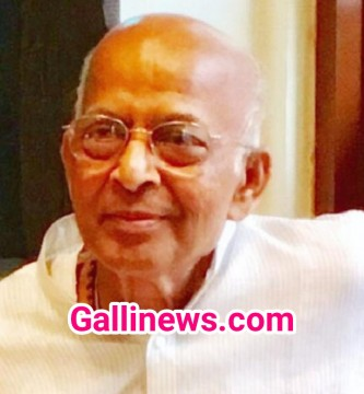 Former state Chief Secretary Arun Bongirwar passed away today morning