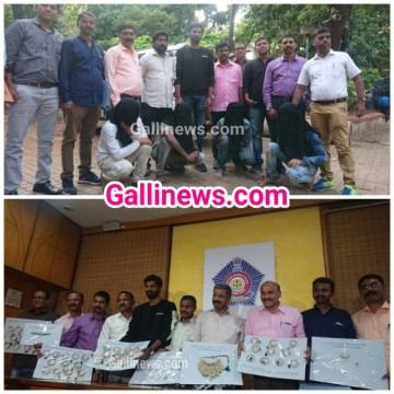 1 Crore 33 lakh ki Jewellery chori karne wale chor Arrested by NM Joshi Marg Police Station