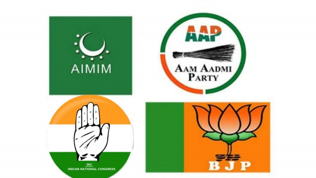 Gujrat Election AIMIM 4 seats se aage at Ahmedbad Municipal Election Gujrat
