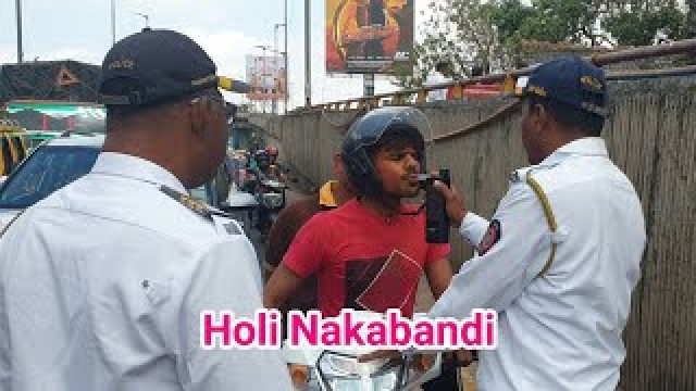 Holy Nakabandi 3 Drink N Drive Case Detected at Wadi Bunder By Dongri and Pydhonie traffic police