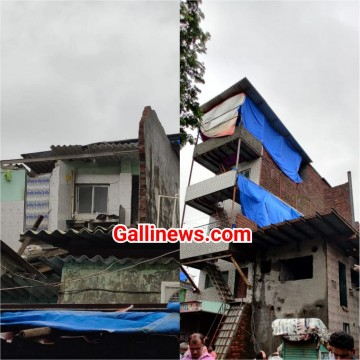 House Collapses at slum area in Malwani Gate No 6 No at Malad West