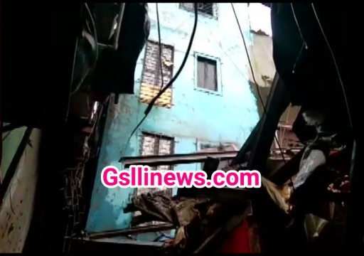 House collapse 1 dead 4 injured at Chembur