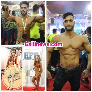 IHFF Sheru Classic  Competition Bikni Model Me Top 10 Me Pahuchi Mumbra ki Lady Gym Trainer