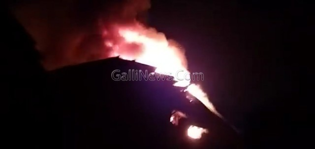 Fire in Powerloom Unit At Khoka Compound Bhiwandi