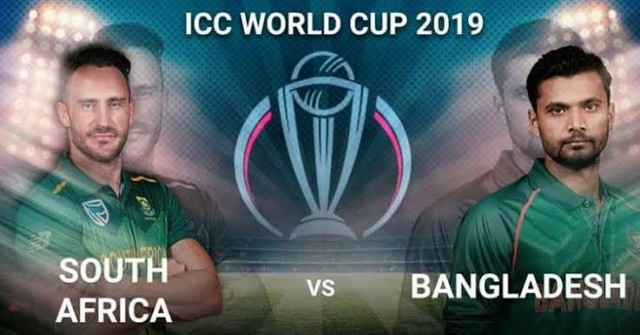 Bangladesh won the match by 21 runs against South Africa