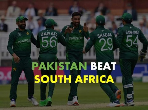 Pakistan Win By 49 Against South Africa World Cup Semi Final se SA Out