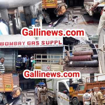 Cylinder Blast se hui ek ki maut main Owner and Manager arrested by Police at Vikhroli