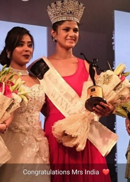 Police Officer Bani Reigning Miss India 2019