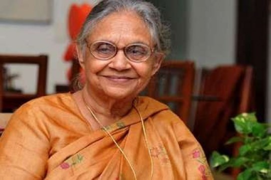 Former Delhi CM Sheila Dikshit Passes Away at 81 age in New Delhi