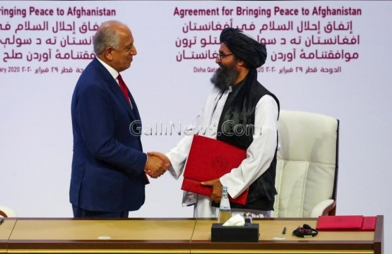 Taliban US Peace Agreement. After 18 yrs in War
