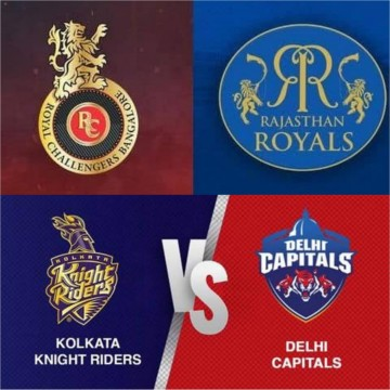 IPL Match 15 RCB Beats RR and Match 16 DC Beats KKR Today