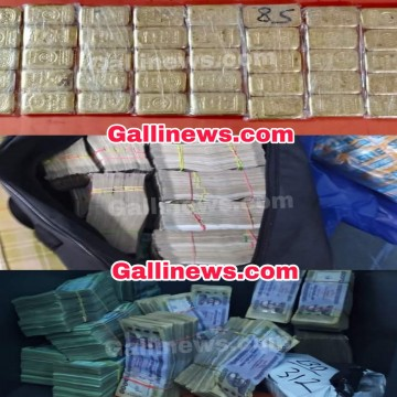 40 Gold bar & foreign currency Wroth Rs 3 23 Crore seized by Customs department at Marquise Street of Kolkata