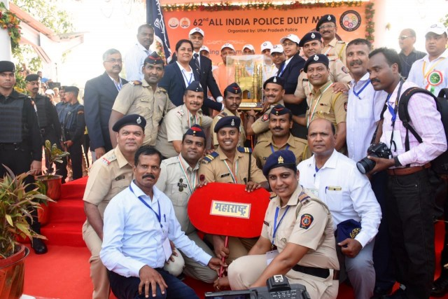 Congratulations Maharashtra Police For Becoming Number one in India at Sixty two Annual Police Duty Meet